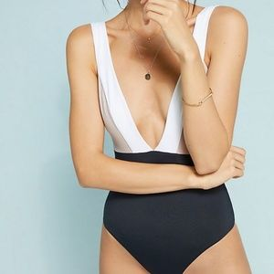 Tavik FP Anthro luna color block one-piece swim